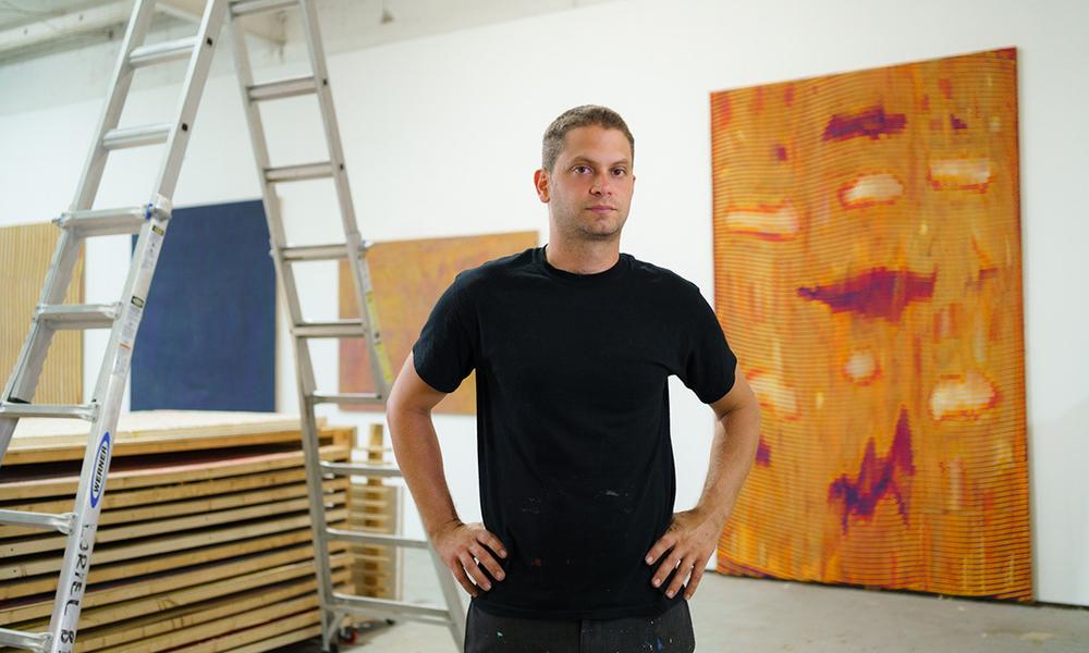 Loriel Beltran in His Studio