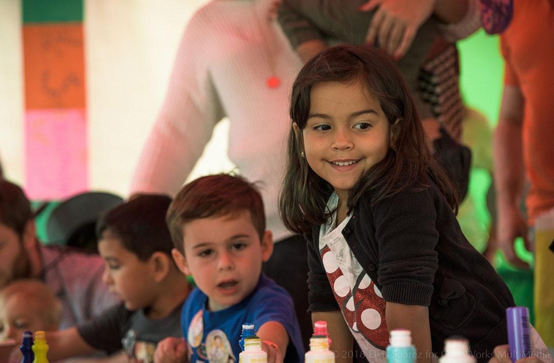Children at Family Program 1