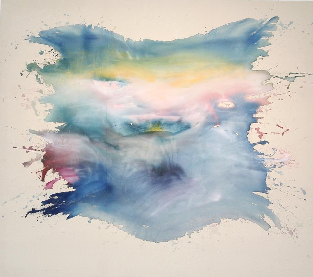 Pat Lipsky - Pink Wind